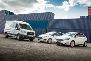 Ford Fiesta, Ford Focus and Ford Transit range