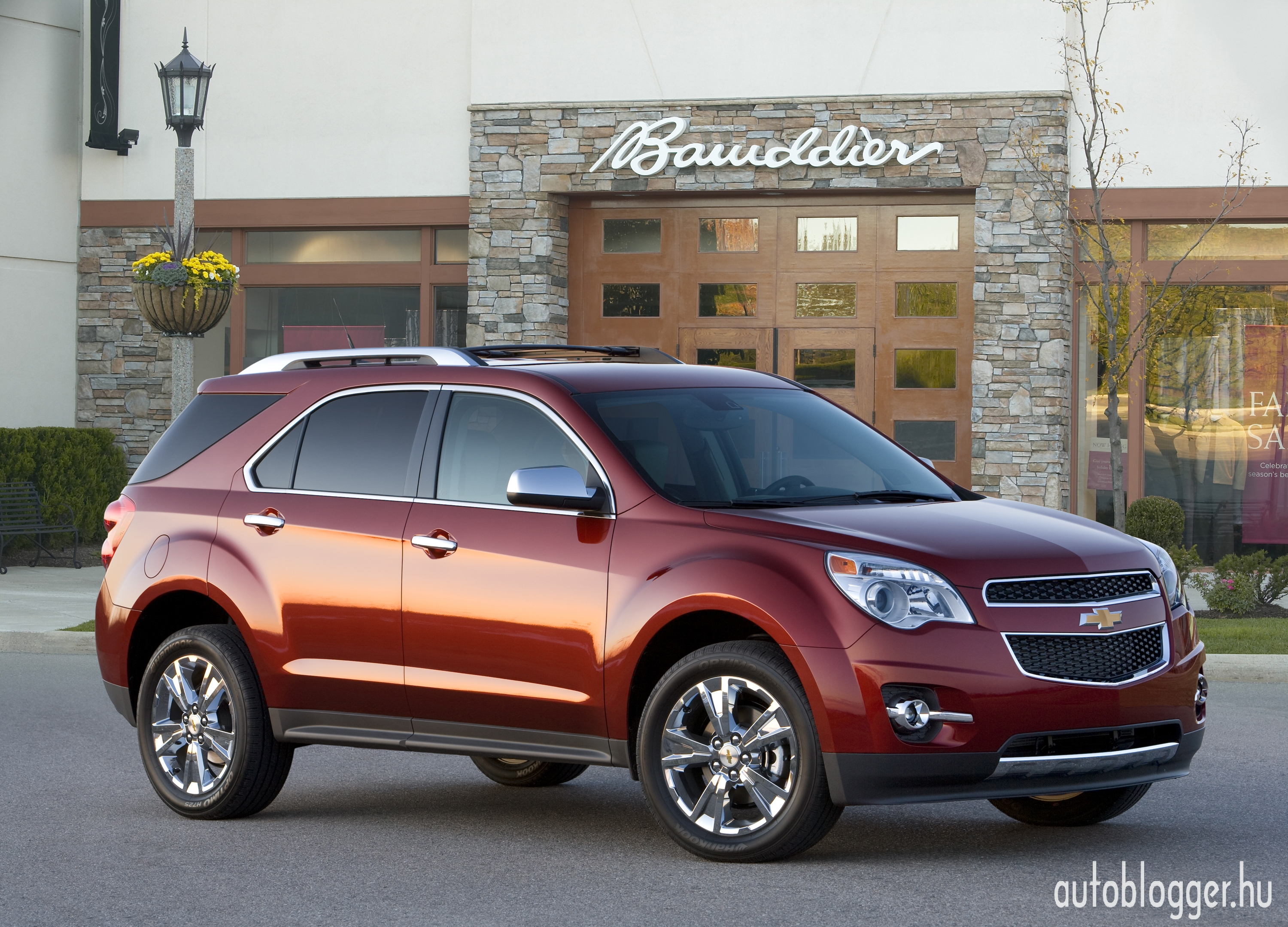 2011 Chevrolet Equinox LTZ. X11CT_EQ001 (06/22/2010) (United States)