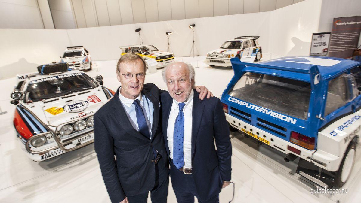 Ari Vatanen and David Richards at the Group B_Autoblogger.hu